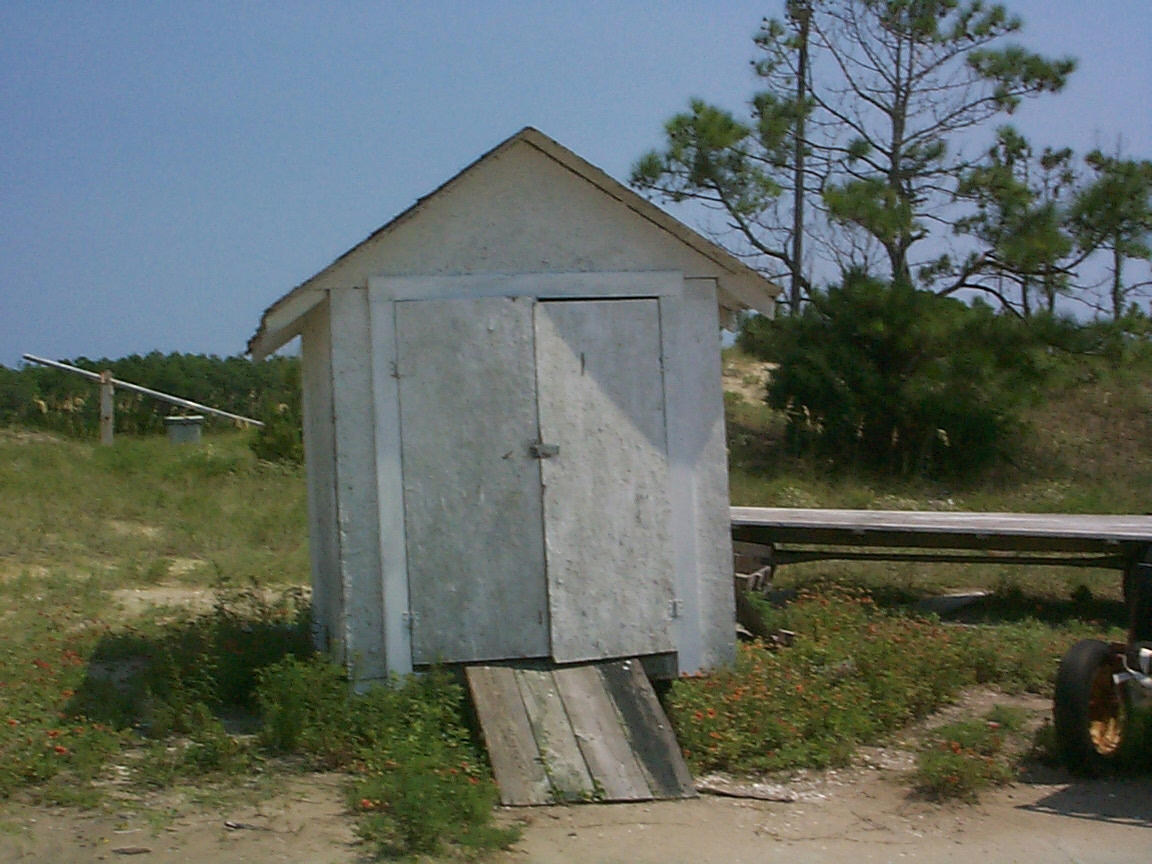 cape-lookout-coast-guard-station- shed