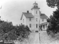 Yaquina, lighthouse, 1917