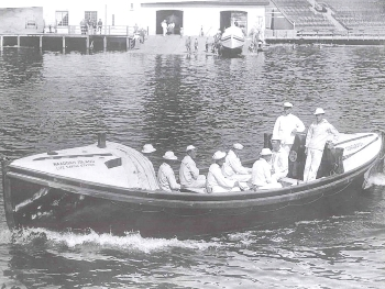 Motor lifeboat for National motor lifeboat school