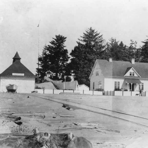 Umpqua, station, 1923.TIF USCG HQ Umpqua River file