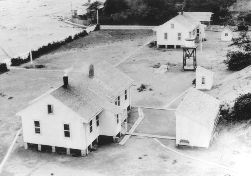 Coos Bay, station, 1923.TIF USCG HQ Coos Bay file